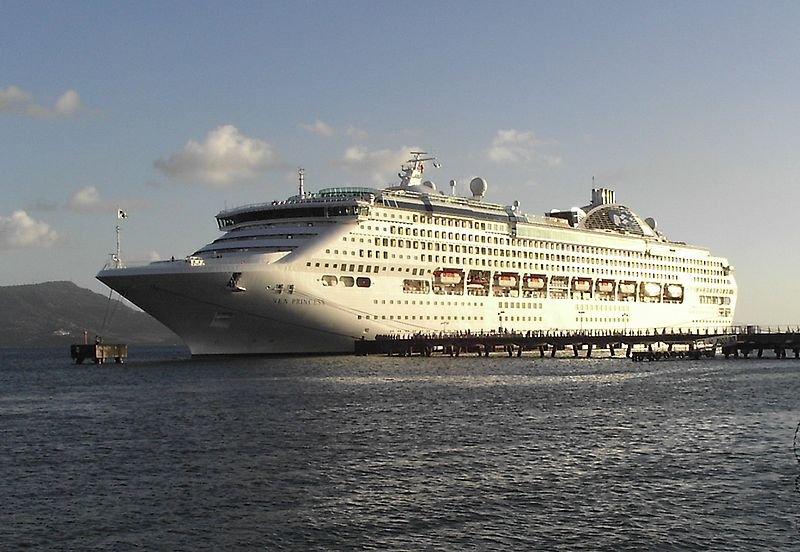 Круизный лайнер Морская Принцесса»