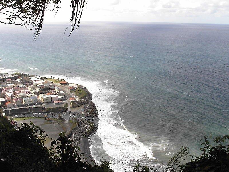 Grand\'Rivière en Martinique