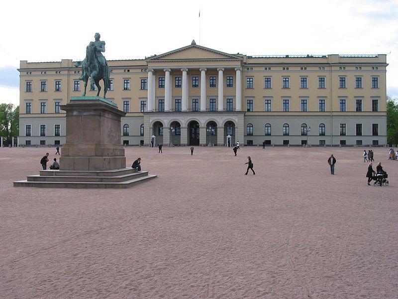 Дворец короля Норвегии, Осло