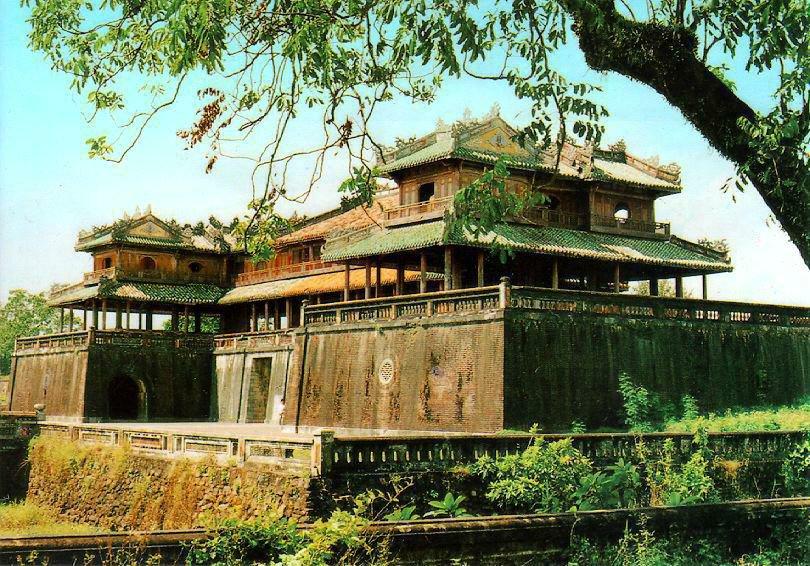 Императорский город в Хью, Вьетнам. Запретный город