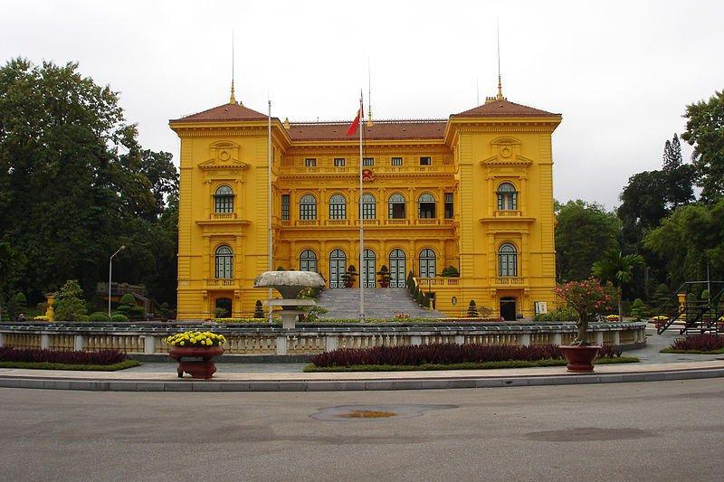 Президентский дворец в Ханое, Фото Ondrej Zvacek