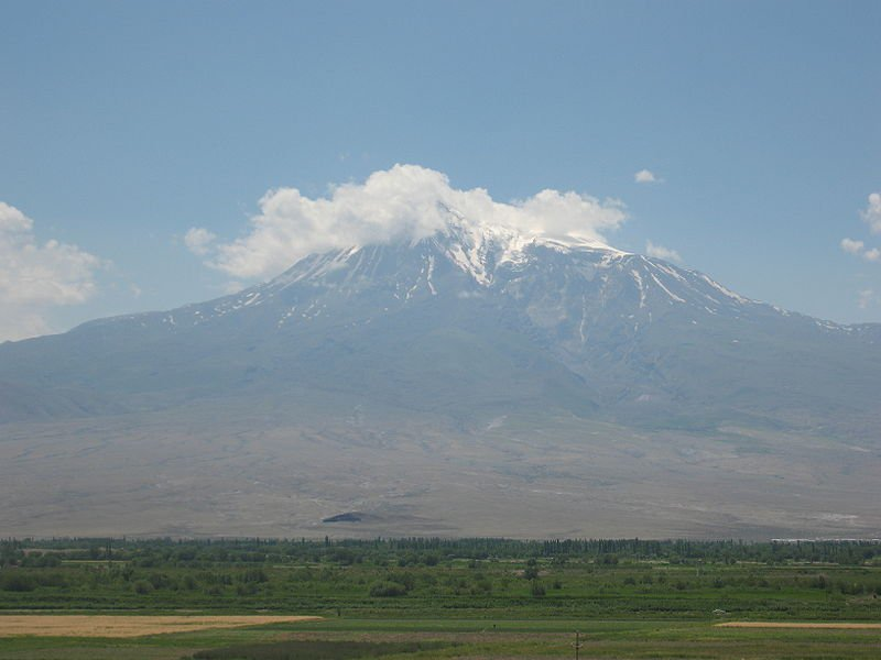 Большой Арарат, вид со стороны Хор-Вирап