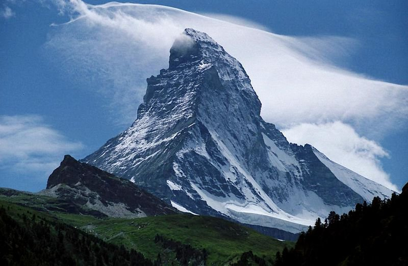 Маттерхорн, Швейцария