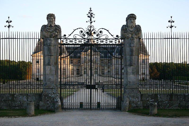 Дворец Во-ле-Виконт, Мелён, Франция