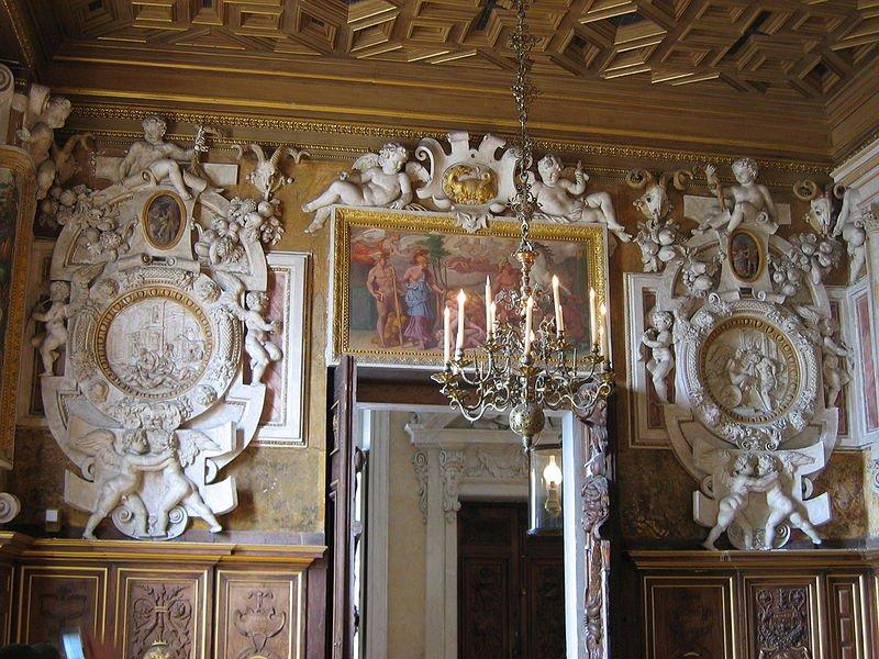 Интерьеры дворца Фонтенбло