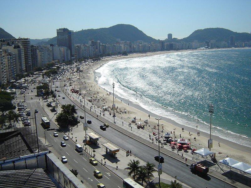 Пляж Копакабана, Рио-де-Жанейро