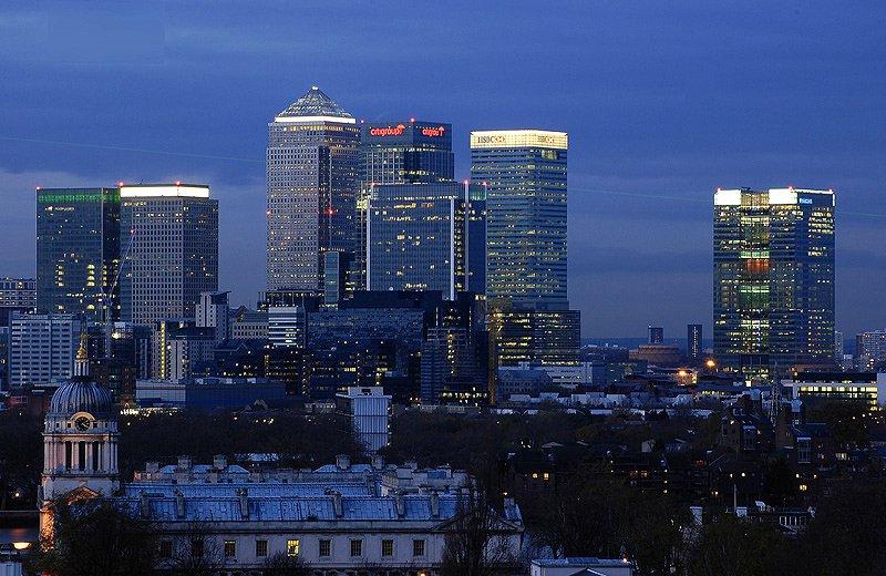 Лондон ночью