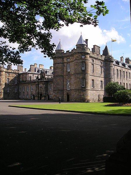 Дворец Холируд, Эдинбург