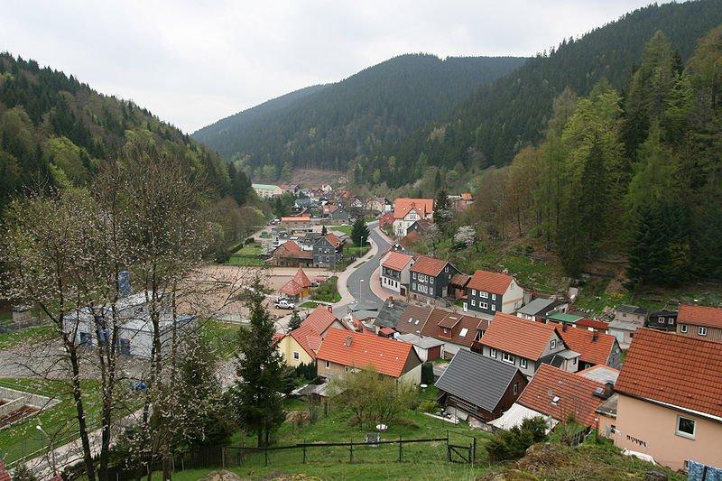 Тюрингия весной