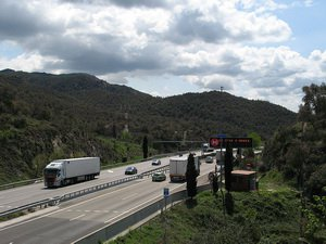 AP-7 в Каталонии