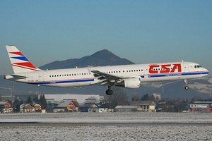 Самолет Чешских авиалиний