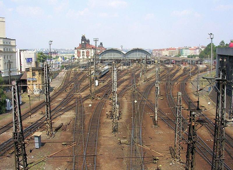Hlavní nádrazí в Праге