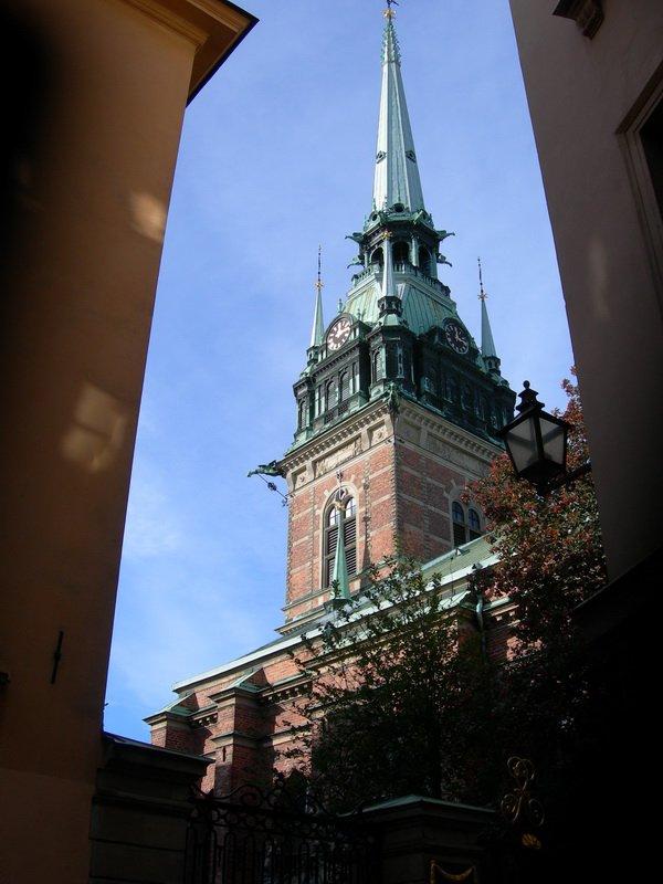 Германская церковь, Старый город Стокгольма