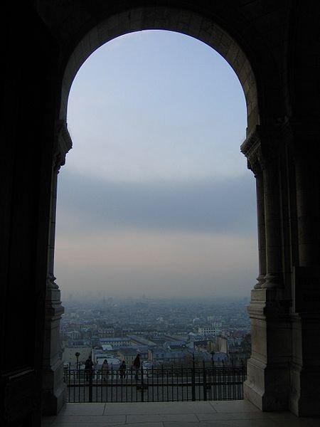 Сакре-Кёр: вид на Париж