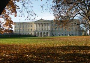 Дворец в Осло