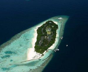Атолл на Мальдивах