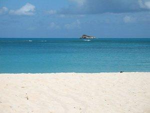 Пляж на Антигуа