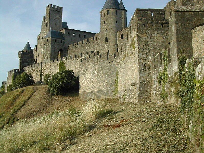 Каркассон, крепостные стены