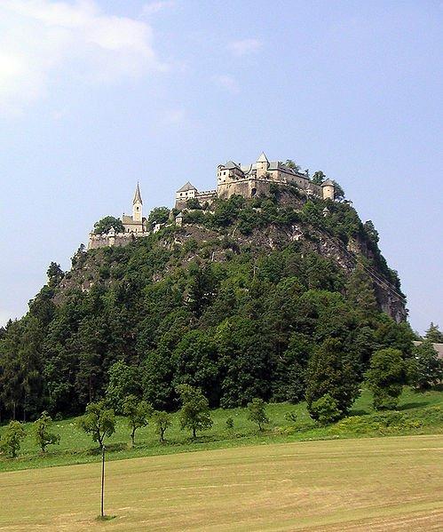 Крепость Хохостервитц, Каринтия