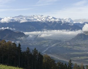 Долина Рейна, Лихтенштейн