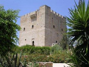 Крепость Колосси. Лимасол, Кипр