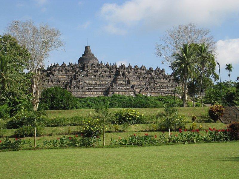 Храм Боробудур, фото Anandajoti / Wikimedia Commons