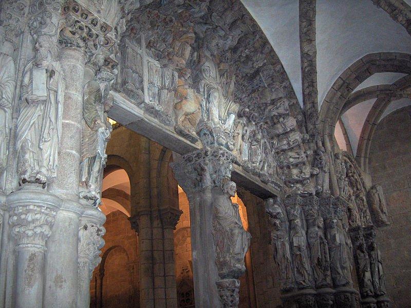 Портик Глория, собор Святого Иакова, фото Georges Jansoone