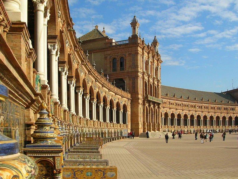 Площадь Испании, Севилья, фото Gregory Zeier
