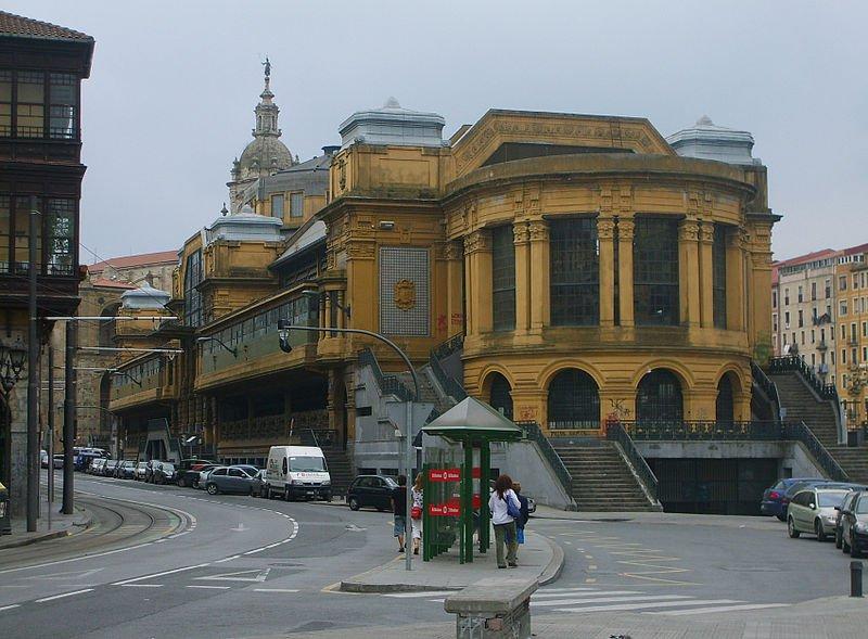 Береговой рынок, Бильбао
