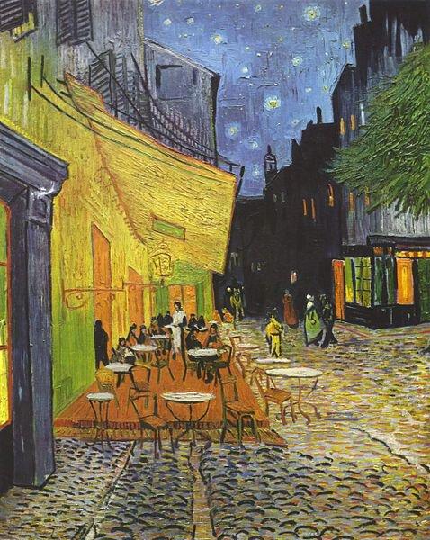 "Винсент Ван Гог, ""Кафе-терраса"""