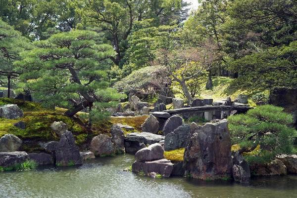 Сад замка Нидзё, Киото
