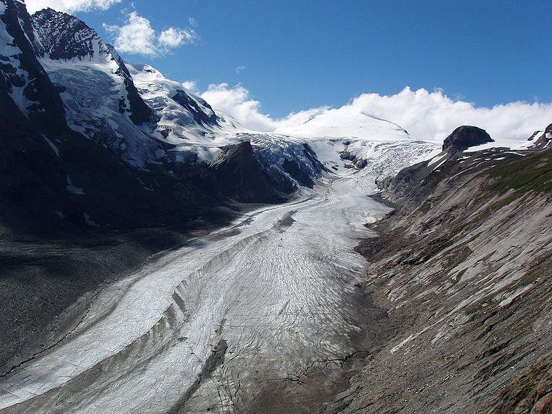 Ледник Пастерце, вид с Франц-Йозеф Хёэ