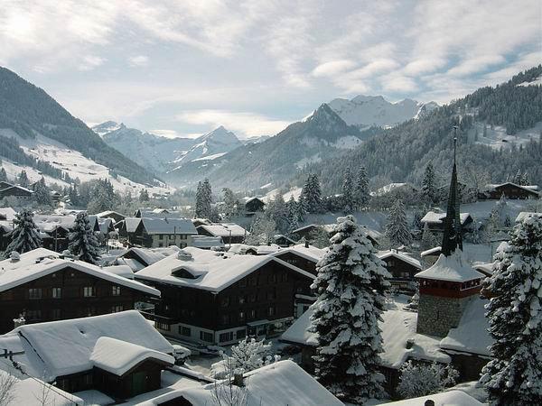 Курорт Гштаад, Швейцария