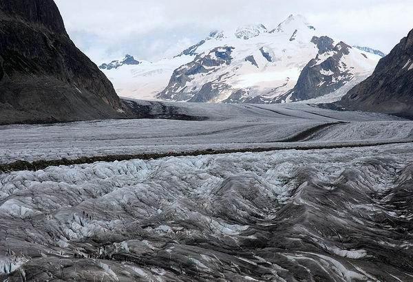 Ледник Алеч, Швейцария