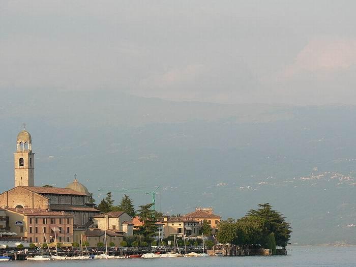 Городок Сало, озеро Гарда