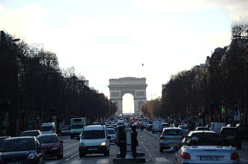 Елисейские поля. Париж, Франция