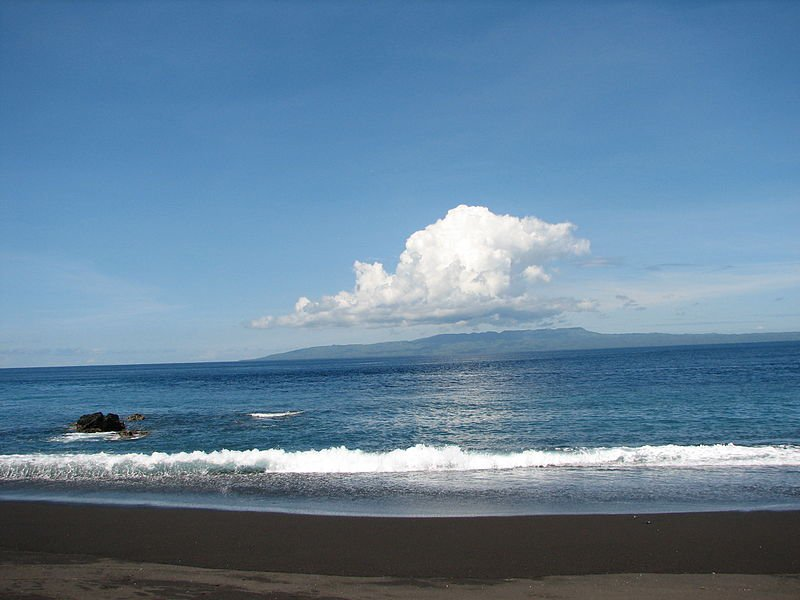 Пляж на острове Бали, Индонезия