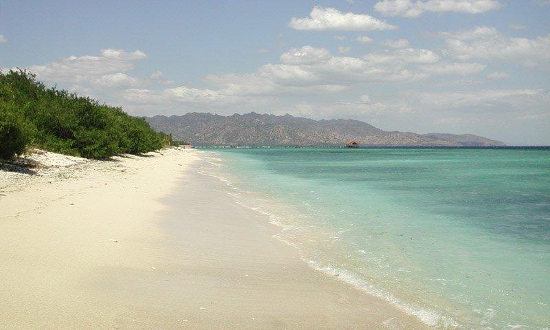Пляж на острове Ломбок