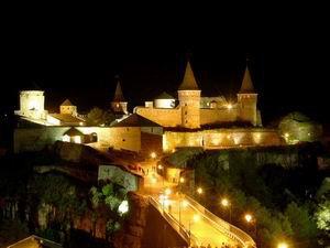 Крепость в городе Каменец-Подольский, Западная Украина