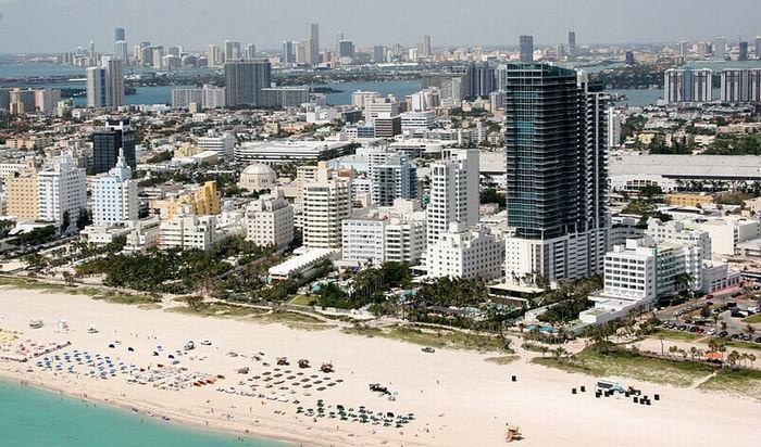 Майами Бич, пляжи и отели