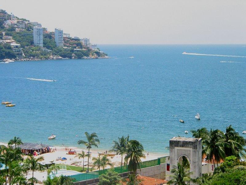 Акапулько, Мексика, вид на бухту