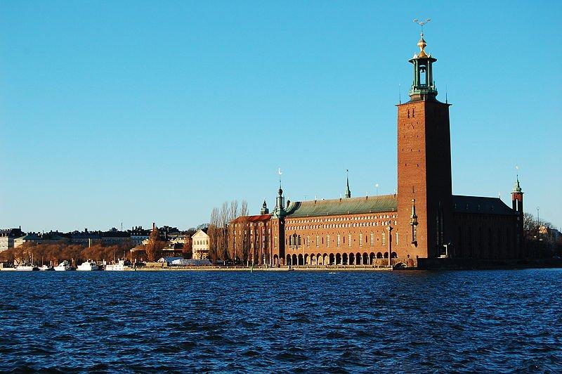 Стокгольмская ратуша, вид с Гамла стан