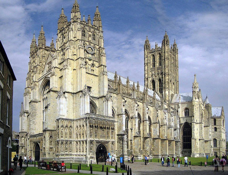 Кентерберийский собор, фото Hans Musil / Wikimedia Commons
