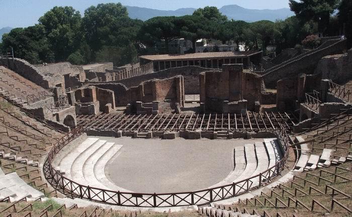 Помпеи, театр