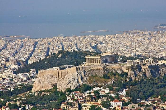 Афинский Акрополь сегодня