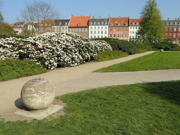 Королевские сады в Копенгагене, фото Daderot