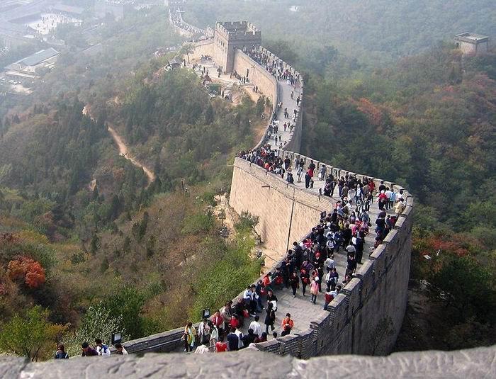 Великая китайская стена, Китай, фото