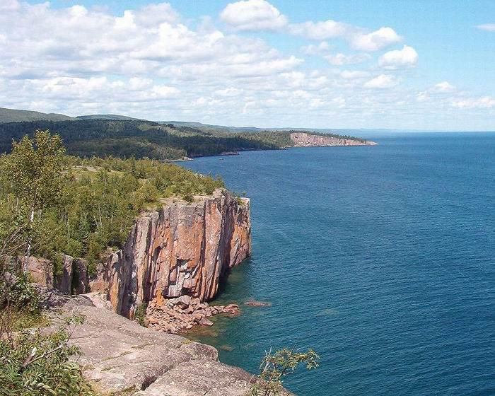 Озеро Верхнее, США-Канада