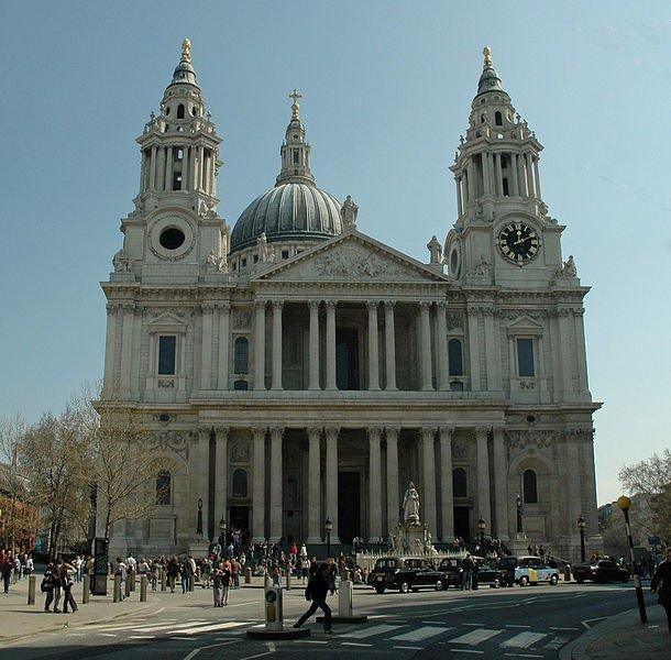 Собор Святого Павла в Лондоне, фото Josep Renalias