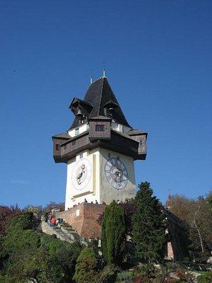 Уртурм, Часовая Башня. Грац, Австрия